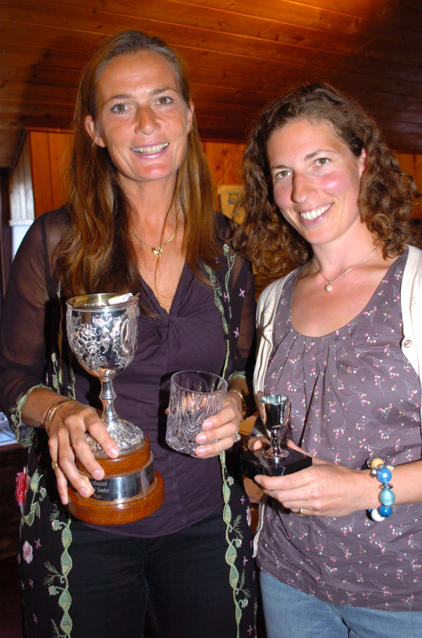 Emma Bunting and Pippa Taylor take 3rd place in Championship and the Wallis Cup