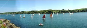 SCSC 2012 Panoramic view of the start of race 4