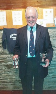Derek Bunting - Winner of the Singlehandeds