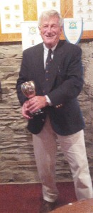 Gerry MacNulty - Winner of the Flying Fifteen class