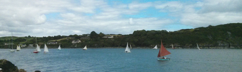 The fleet sails for harbour August 11 2013
