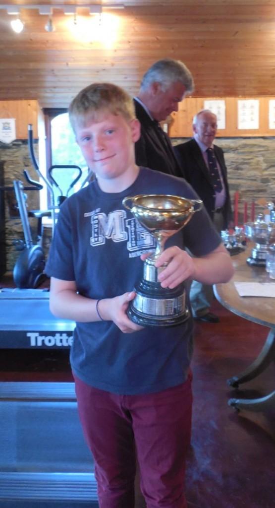 Shane Buckley - Winner of the Novice Cup