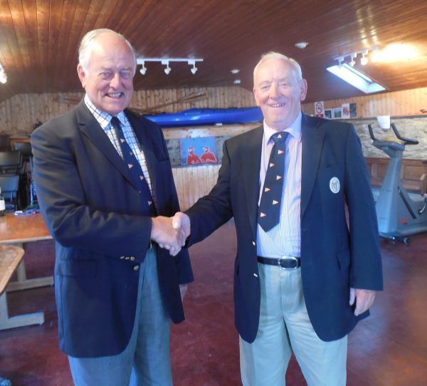 The Commodore congratulates new Senior Member, Derek Bunting