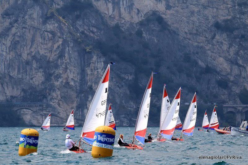 Day 5 at the Topper World Championships 2015 - photo © Elena Giolai / Fraglia Vela Riva