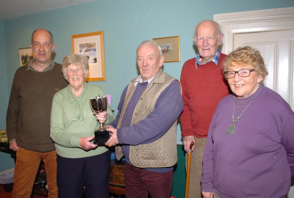 SCSC Cup presentation - The Captain's Cup, for Ette racing