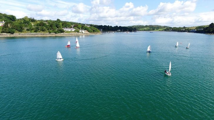 SCSC 2018 – Pictures – Cadets and Castletownshend in the sun from above