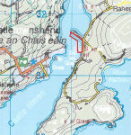 map of proposed oyster bedscastletownshend bay co cork ireland