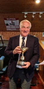 SCSC 2019 Adrian Masterson Winner Chevasse Cup for second Ette in Championship also winner of the Ettes in the Ocean race