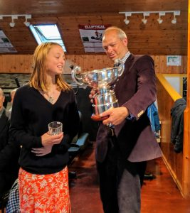 SCSC 2019 Jerome and Charlotte Mayhew winners of the Championshi and winners of the Championship Wayfarers class
