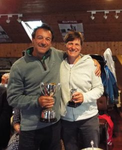 SCSC 2019 Rui and Anke Ferreira winners of the Mahony Cup