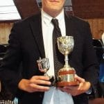 Will Toogood winner of the Wallis Cup
