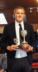 Will Toogood winner of the Wallis Cup
