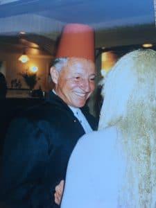 Roger Pisani fez or flowerpot